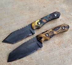 Tactical Pterodactyl Knives