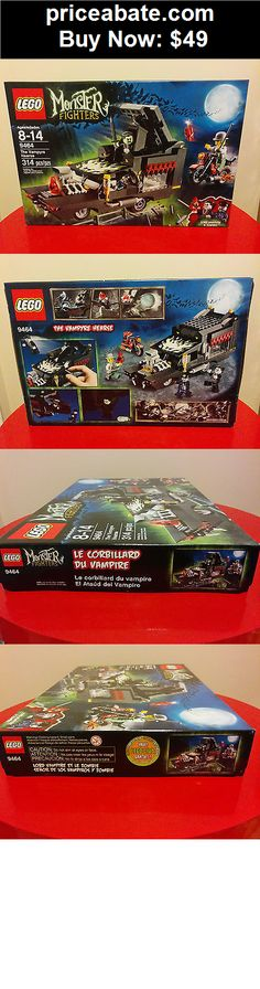 Toys: New in sealed box - LEGO Monster Fighters The Vampyre Hearse (9464) - BUY IT NOW ONLY $49