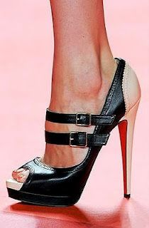 Christian Louboutin - Although a bit pricey, every girl needs a pair of Christian Louboutins. They lift you up to a new height putting you on a pedestal above everyone else