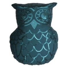 Thro By Marlo Lorenz Marvin Owl Sequin Throw Pillow