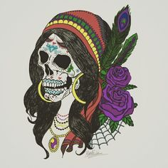 Gypsy Skull Not all who wander are lost ...