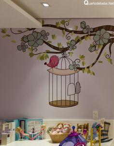 papel parede para quarto infantil