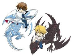 Seto, Joey and their dragons