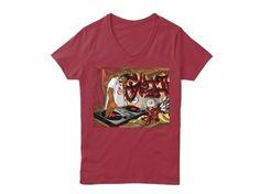 LENARA Shop - shirts, hoodies and gifts.  Hanes Women's Relaxed V-Neck $22.99 The print - Disc Jockey.  GO TO STORE   https://teespring.com/disc-jockey-7840#pid=391&cid=6604&sid=front