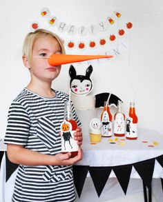 Printable Halloween Party Pack!