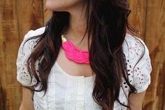 10 tutoriales para hacer collares en trapillo | El blog de trapillo.com