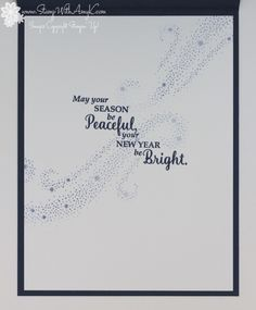 Stampin' Up! CAS Star of Light Christmas Card