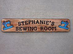 Sewing Room Custom Sign $60.00