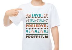 2015 Retail Conservation Shirt by Laura Horn for the Memphis Zoo.