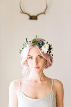 Tinge Floral, Floral Wreath Ciara Richardson Photography