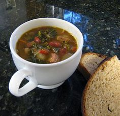 Kale and Sausage Soup - Diana Rattray