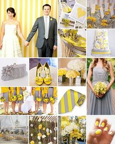 Yellow & Gray Wedding ideas for The Coal Reserve