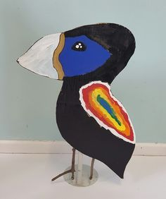 MaryMaking: Recycled Cardboard Birds