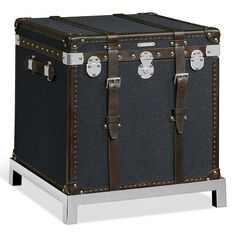 Modern Metropolis Trunk - Occasional Tables - Furniture - Products - Ralph Lauren Home - RalphLaurenHome.com