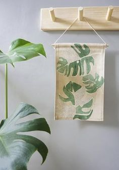 Our mini wall hangings feature original botanical designs printed on thick, quality canvas fabric and suspended from natural Tasmanian oak with cotton twine - ready to be hung as a perfect addition to your home or office space. Fabric Wall Decor, Wall Decor Design, Canvas Wall Decor, Mini Canvas, Affordable Art, Wall Hangings, Artsy Fartsy, Twine, Canvas Fabric
