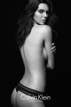 The original sexy. The Fall 2015 Calvin Klein Underwear ad campaign, featuring Kendall Jenner. #mycalvins