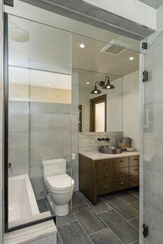 Modern bathroom designed by Astro Design, Ottawa. Won Best Custom Bathroom at this years GOHBA Awards!