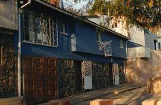 La Chascona. Pablo Neruda's house in Santiago de Chile
