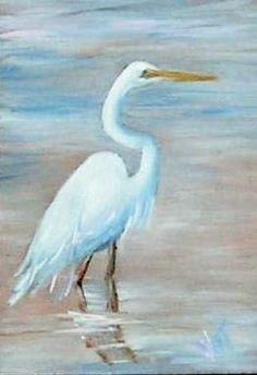 Great blue heron 2 painting by jean plout great blue for White heron paint