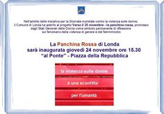 La Panchina Rossa - 25 novembre tutti i giorni dell'anno @ Comune Di Londa - 24-Novembre https://www.evensi.it/la-panchina-rossa-25-novembre-tutti-i-giorni-dellanno/191994607