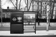 London. Bus Stop (2016)