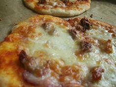 Rózsaszín limonádé: Túrós pizzalepénykék