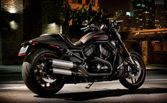 HD night rod special motorcycle. 1250cc v-twin revolution engine. blacked-out everything. mmmmmm.