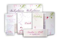 Hochzeitseinladungen mit floralen Ornamenten und in bunten Farben Altar, Cover, Paper, Book Folding, Card Wedding, Altars, Blankets