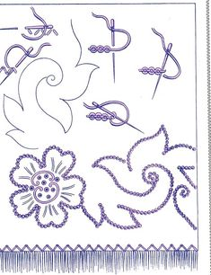 This photo was uploaded by Basic Embroidery Stitches, Hand Embroidery Flowers, Folk Embroidery, Learn Embroidery, Japanese Embroidery, Embroidery Needles, Hand Embroidery Patterns, Embroidery Techniques, Ribbon Embroidery
