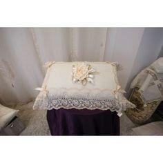 Cuscino con rosa #Pillow with #rose