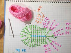 Best 11 80 Patrones para hacer zapatitos, botines y zapatillas de bebés en crochet (free patterns crochet sandals babies – Page 63472675985792403 – SkillOfKing. Crochet Baby Sandals, Booties Crochet, Baby Girl Crochet, Crochet Shoes, Baby Booties, Crochet Doll Dress, Crochet Barbie Clothes, Knitted Dolls, Knitting Dolls Clothes