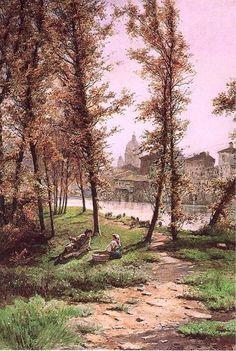 Ettore Roesler Franz, Prati Di Castello, 1880 ca.