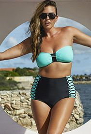 Fatkini and More Great Two-Piece Swimsuits for Full Figures | Bookdrawer
