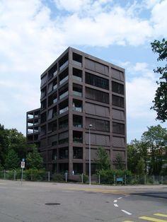 Schwarzpark Residences - miller & maranta - Basel - switzerland