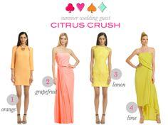 Palm Beach Lately: Weekender: Summer Wedding Guest Citrus Crush