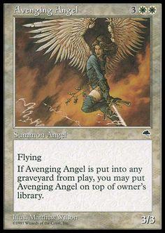 Avenging Angel. MTG Tempest
