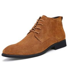 size 40 84606 cfa09 Cheap homme, Buy Quality hommes shoes Directly from China Suppliers JUNJARM  Genuine Leather Men Ankle Boots Breathable Men Leather Boots High Top Shoes  ...