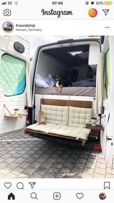 fold down couch camper van The post Biggest Van Life Mistakes appeared first on Woman Casual - Camping Bus Camper, Kombi Motorhome, Camper Life, Ford Transit Connect Camper, Transit Camper, Sprinter Van Conversion, Camper Van Conversion Diy, Van Life, Camping Car Van