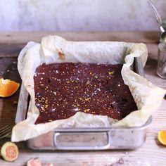 Recipe: Orange & Fig Brownies