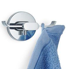 Väggkrok Areo från Blomus, dubbel i rostfritt stål www.globalxdesign.se Bathroom Hooks, Material, Products, Colour, Black, Gadget