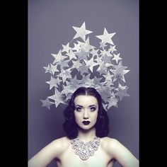 Bridesmaids would have a cow, but I don't care. It's my wedding. I love the idea of a star crown.