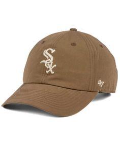 1da0093c715a0  47 Brand Chicago White Sox Harvest CLEAN UP Cap   Reviews - Sports Fan  Shop By Lids - Men - Macy s