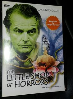 The little shop of horrors dvd 73 min. black & white MM11 PASSIONS PRODUCTIONS