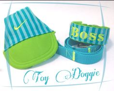 Personalizec collar set by Toy Doggie