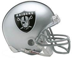 Oakland Raiders Mini Helmets