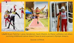 High Achievers: 3 #Olympic And #Paralympic Athletes Who Survived #ChildhoodCancer