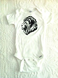 design a onesie:  safari Iron ons