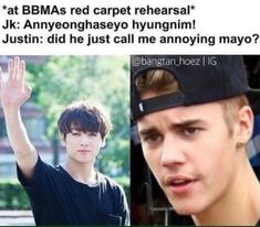 Omg LMAO this is so funny Justin is so weird!!! (love from an A.R.M.Y.)