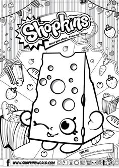shopkins coloring book - Google Search