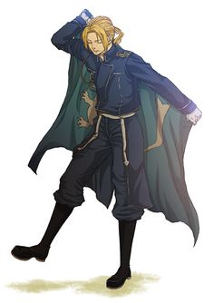 So someone put this on a Hetalia board and said it was france. When clearly it is Edward Elric from FMA in an Military uniform.
